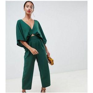 ASOS Emerald Green Kimono Jumpsuit NWT size 00
